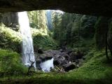 behind North Silver Falls